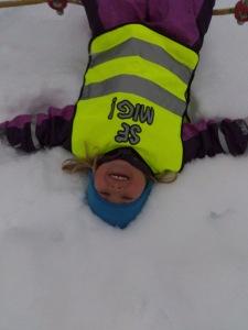 Kul med snö!