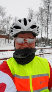 Påpälsad och cykellycklig!