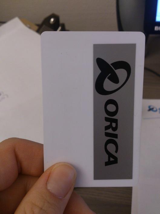 Nu är jag redo med kortet!