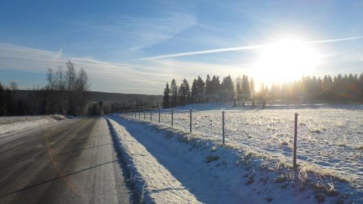 Sånt här väder vill jag cykla i i helgen!