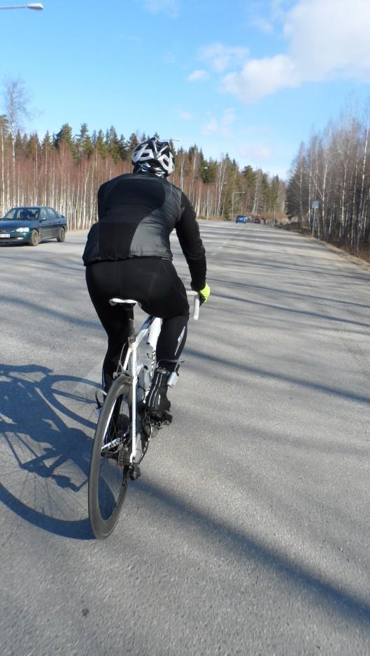 På väg mot mötesplatsen