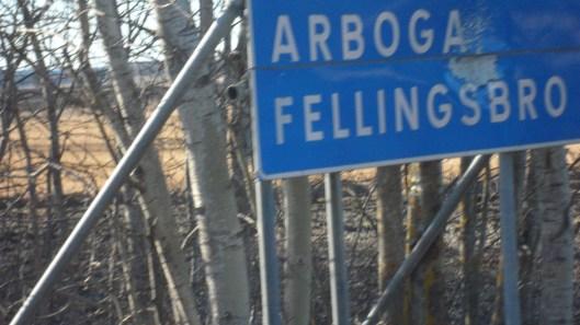 I lördags gick turen från Nora, via Fellingsbro till Örebro och tillbaks till Nora.