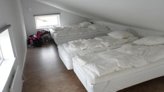 Sovloftet i vår stuga