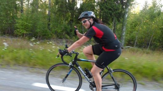 Såhär kul är det att cykla med sällskap