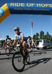 Förra årets start i Katrineholm