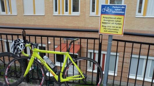 Bra cykelparkering