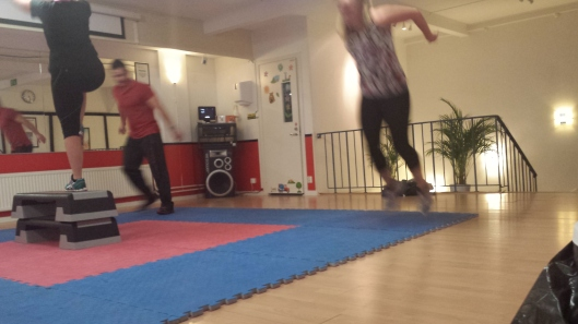 Marit hoppar groda ;)