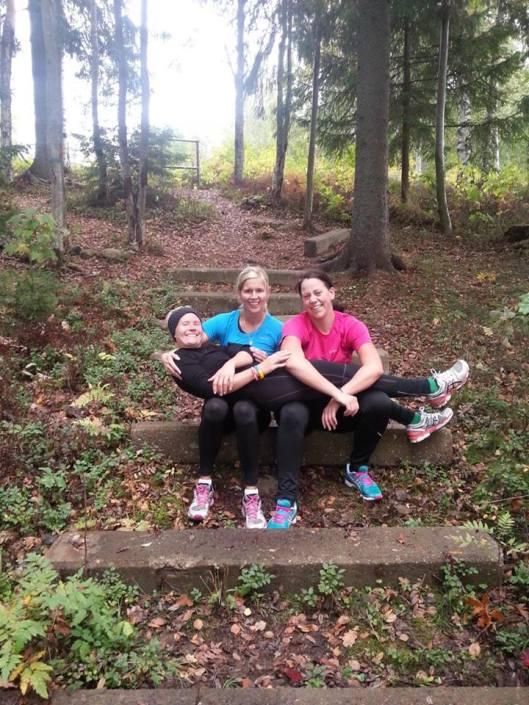 Jag, Elin och Linda (foto: Hanna Fridhamre)