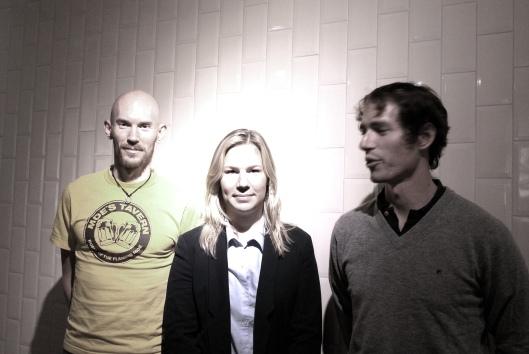 Fredrik Ericsson, Felicia Rudenstam och Isak Strömberg