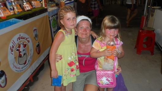 3 tjejer i himmelriket - på weekend-market!