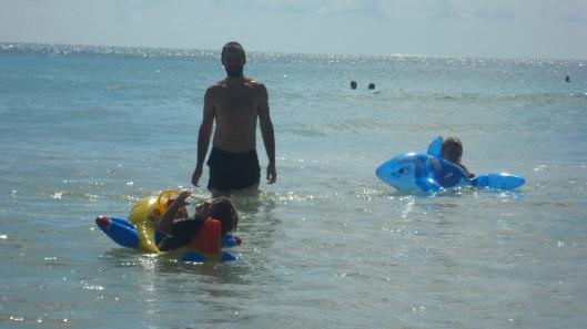 Badlek i havet