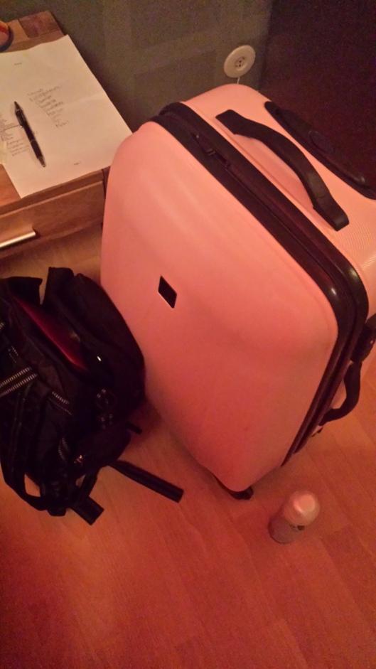 Packad och nästan klar